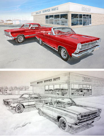 automotive and painting