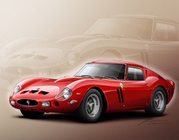 Etienne Art - Ferrari GTO