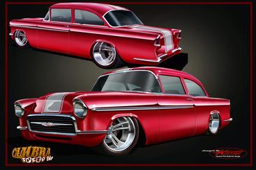 Keith Kaucher 55 Chevy