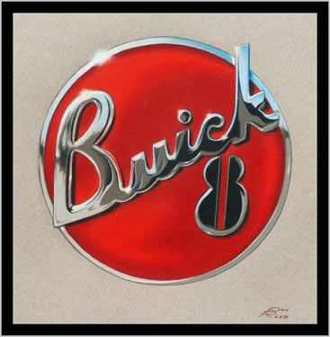 Buick 8 Emblem By Dan Reed Automotiveartists Com