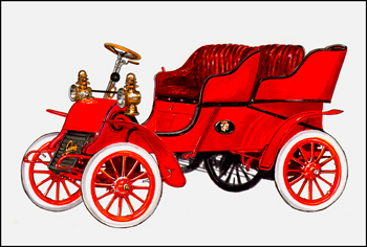 First Cadillac 1902 Cadillac Model A – AutomotiveArtists.com