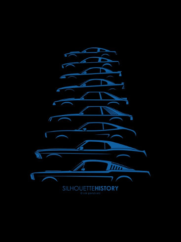 Silhouettehistory Series Continued Automotiveartists Com