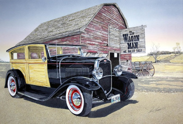 1931 Ford Model A Custom Woody