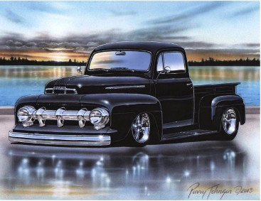 51 Ford Truck