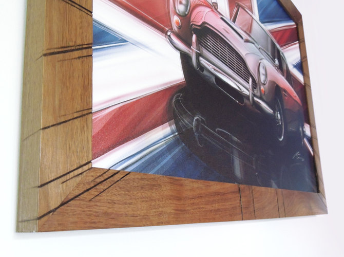 1963 Aston Martin DB5 frame closeup