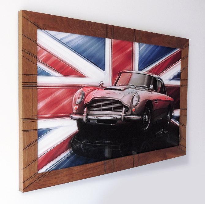 1963 Aston Martin DB5 frame