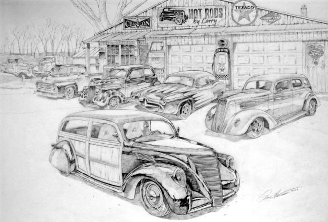 Hot Rods by Larry