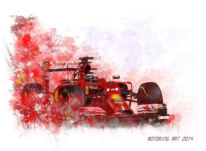 Ferrari F1 4T Alonso 2014