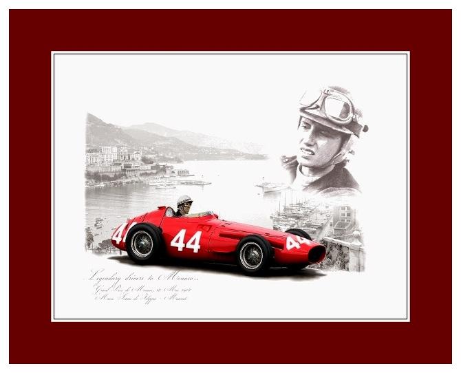 A de Fillppos Monaco 1958