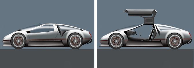 Delorean Concept