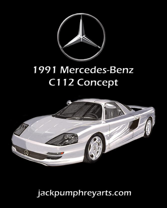 Mercedes Benz C112 Concept