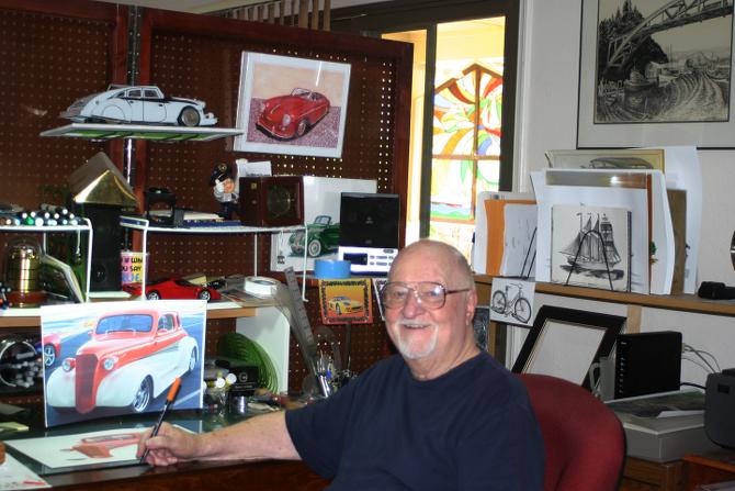 Jack in the studio