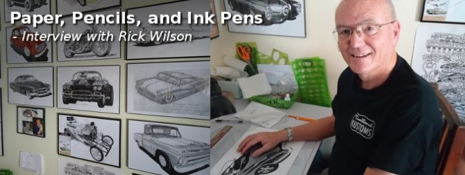 Paper, Pencils, and Ink Pens – Rick Wilson