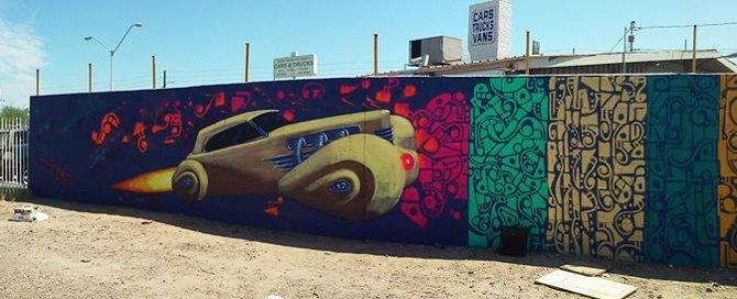 Cord Rocket Mural