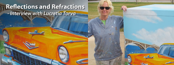 Reflections and Refractions - Interview with Lucretia Torva